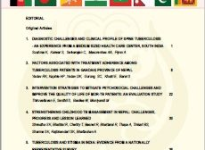 SAARC Journal of Tuberculosis, Lung Diseases and HIV/AIDS-2020