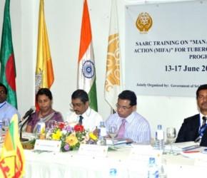 MIFA trainng Sri Lanka 2013