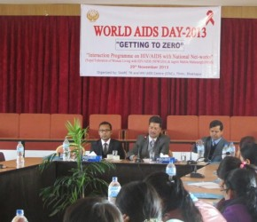 Inaugural Session of World AIDS Day 2013