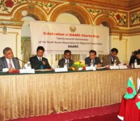 Delegates from SAARC Member States with Chief Gust and Chairperson